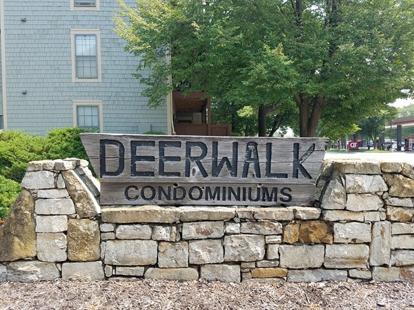 Deerwalk Condos at the corner of Johnson Drive and Quivira Road