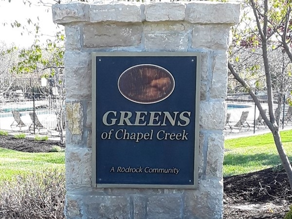 Welcome to Greens of Chapel Creek