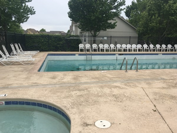 Cool off on the Genesis Trace community pool
