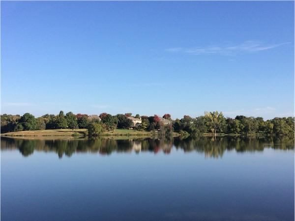 Fall is upon us at the beautiful Lake of Louisburg
