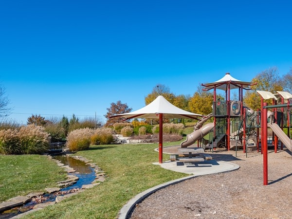 Gezer Park in Leawood - Fall 2019