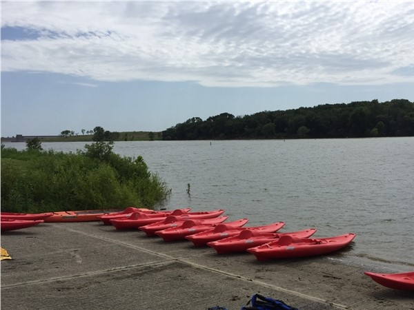 Water fun at Smithvill Lake