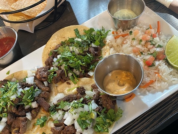 I had a yummy lunch at Sabor Latino in historic downtown Lee's Summit