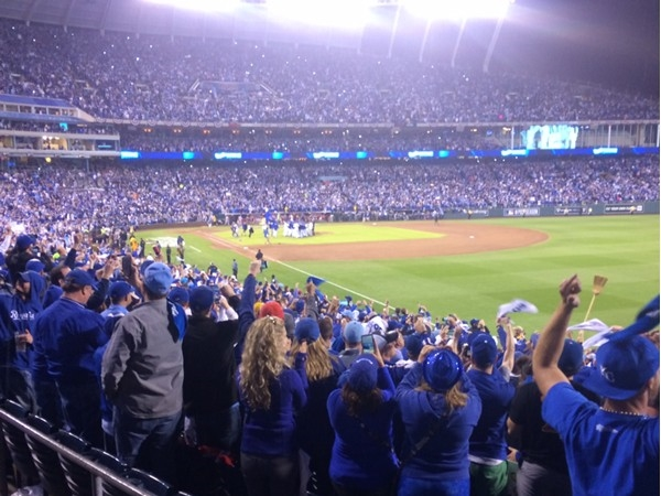 Go Royals! The city is all abuzz for our boys of October