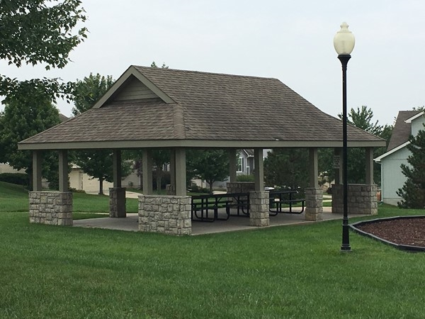 Picnic area/shelter in Highland Pointe