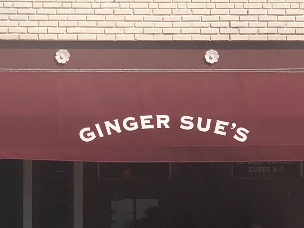 Famous staple for Downtown Liberty. Ginger Sue's is a fun and yummy venue for breakfast or lunch!