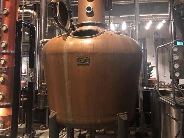Check out Rieger Distillery in the West Bottoms
