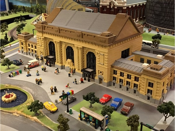 Lego Union Station located at Legoland