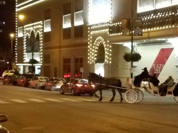 Carriage rides on the Plaza, in Kansas City, Missouri