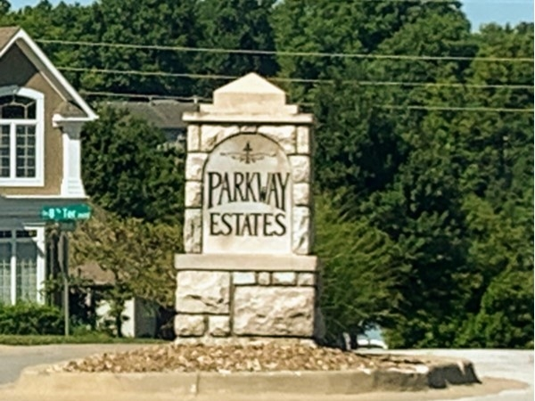 Parkway Estates entrance