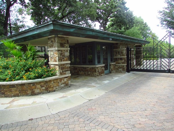 Guardhouse at entry gate