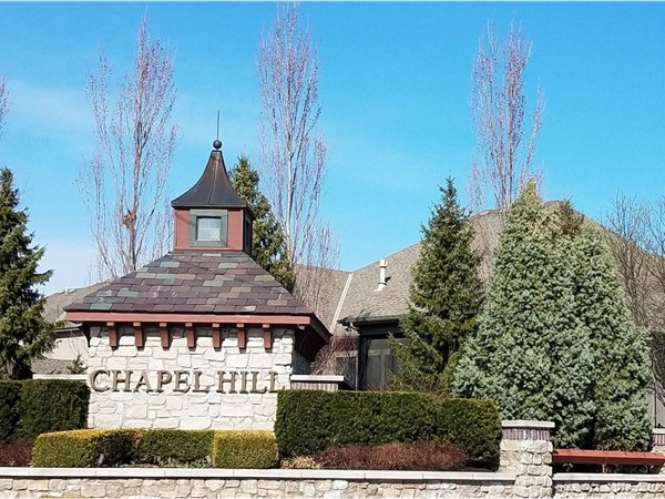 Chapel Hill entrance