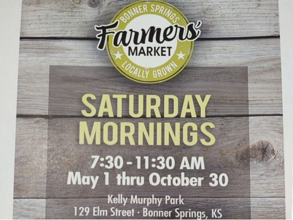 Bonner Springs Farmers Market draws area residents who love locally sourced farm fresh products.