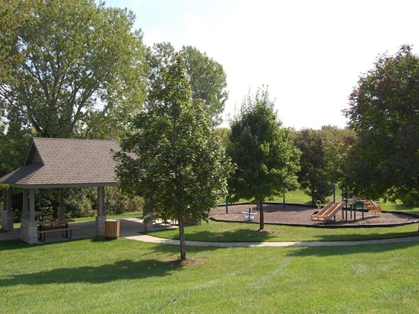 Community playground and park