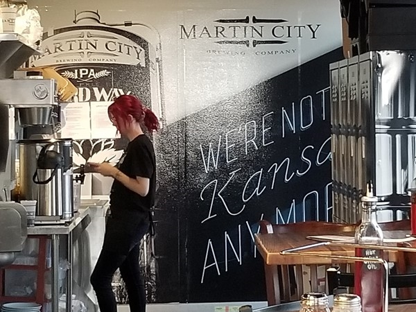 Inside Martin City Brewery in Lee's Summit