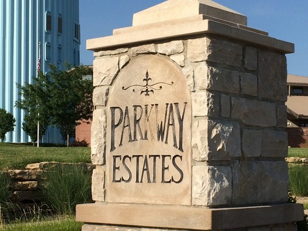 Parkway Estates subdivision in Blue Springs