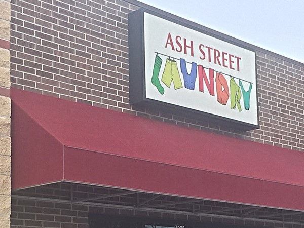 Ash Street Laundry open 7 a.m. - 10 p.m. (not full service)