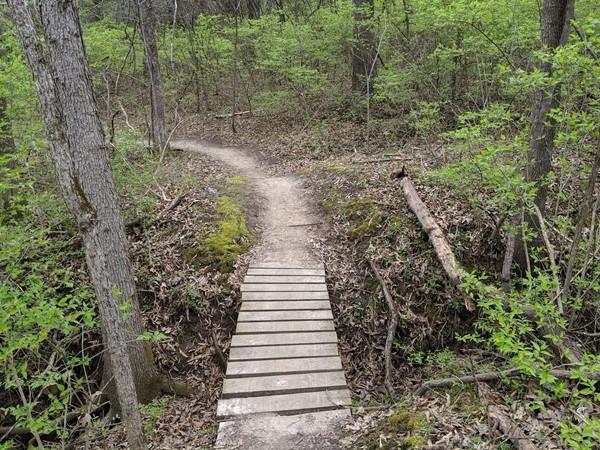 Hike and bike the trails at Hidden Valley Park