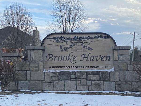 Brooke Haven entrance