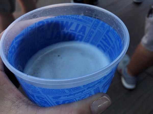 Royals games are best in the shade with a frosty fun beverage