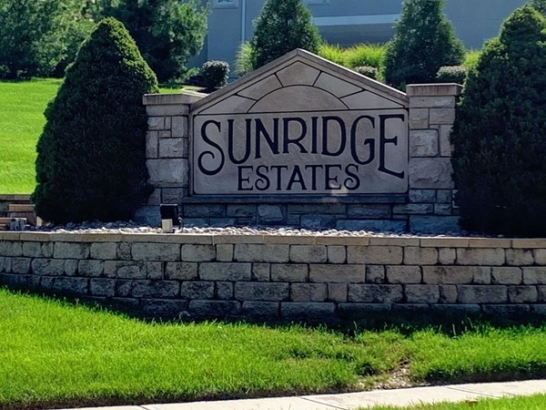Entrance to Sunridge Estates