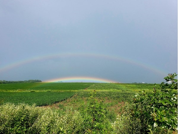 This is where the end of the rainbow is! Beautiful
