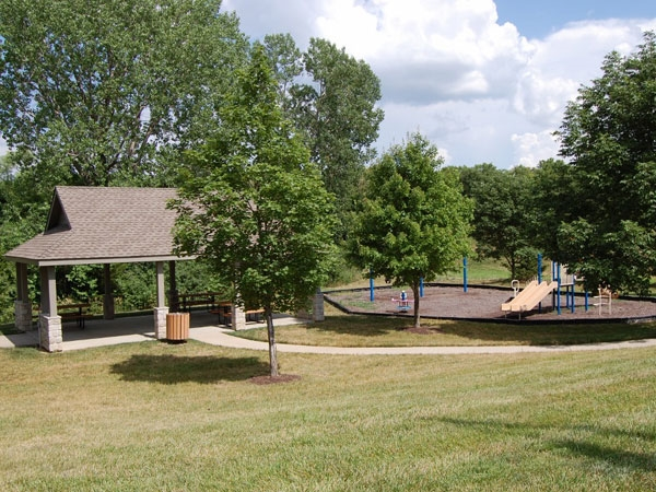 Play area at Wyndham Hill on the Park