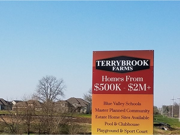 Terrybrook Farms still has homes for sale
