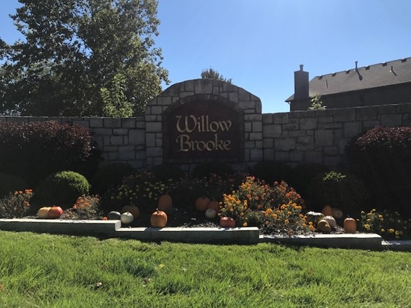 The sun is shining in Willow Brooke today