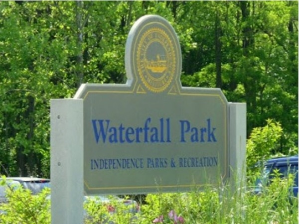 Waterfall Park is one of the many parks in Independence
