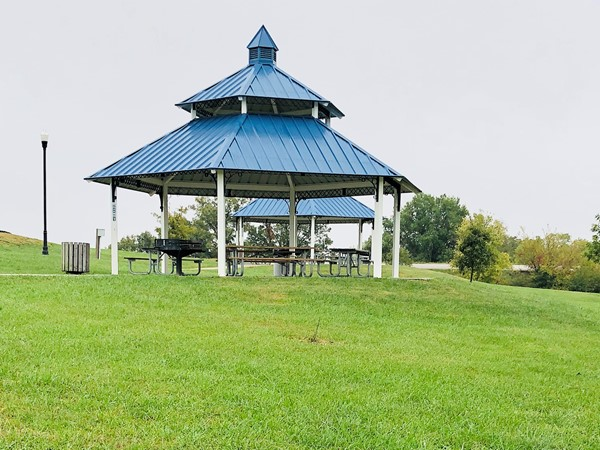 Gazebos at Century Park