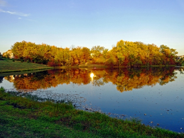 This beautiful community is nestled atop rolling hills and offers two lakes and walking trails.
