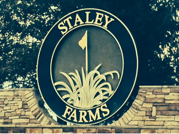 Entrance to Staley Farms.