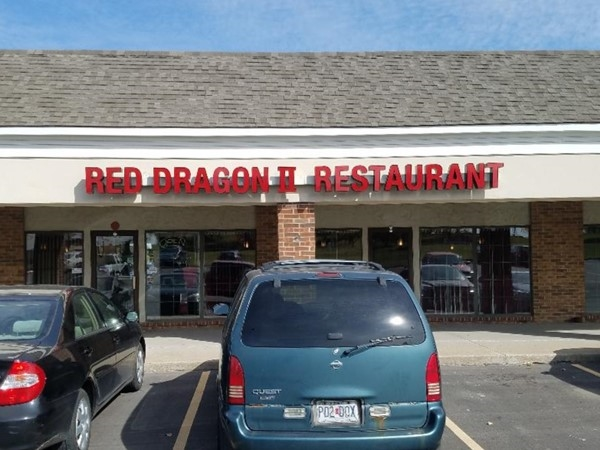 Red Dragon has delicious Chinese food