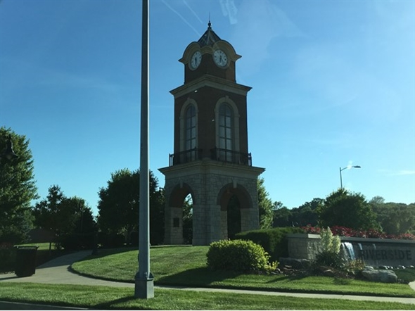 Beautiful clock tower in Riverside