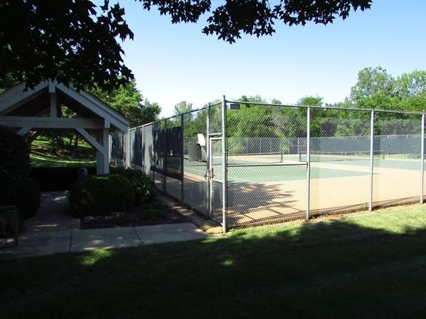 Deer Creek tennis courts