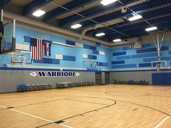 New gym at James Walker Elementary School