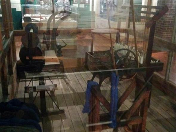 Watkins Woolen Mill equipment