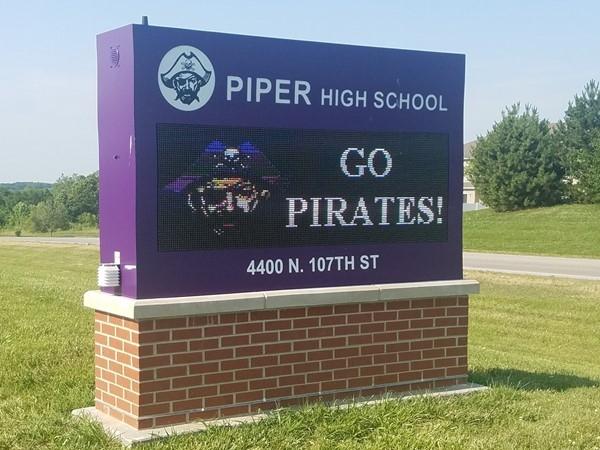 Piper High School has a strong record of outstanding achievements in reading, math, and sports