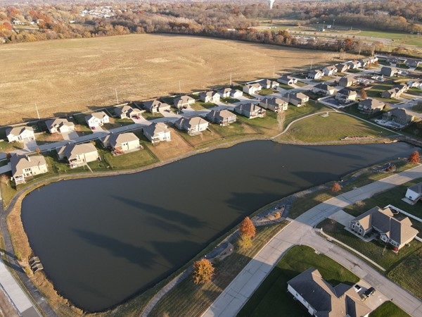 Lot's of new construction going in! Not many lots left! Beautiful walking trail and pond access