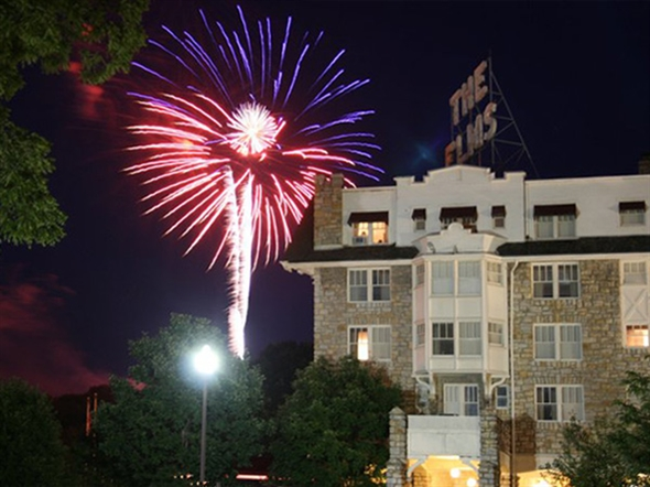 The Elms always puts on a great 4th of July show!