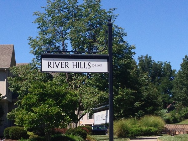 River Hills is a beautiful, peaceful neighborhood.