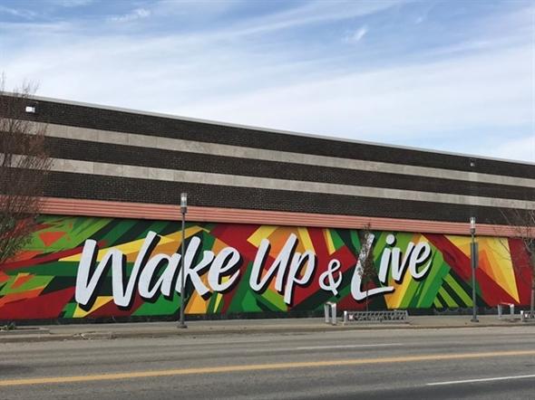 Wake Up and Live - Graffiti