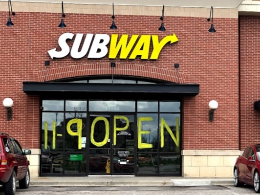 Subway is one of the restaurants located close to the neighborhood