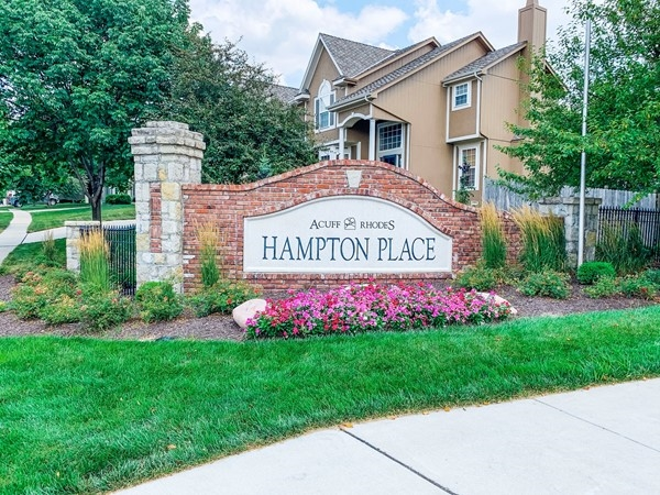 Welcome to Hampton Place in Overland Park