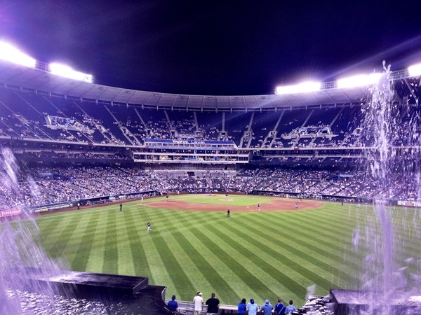 Kauffman Stadium, home baseball's Kansas City Royals, is one of the country's most beautiful
