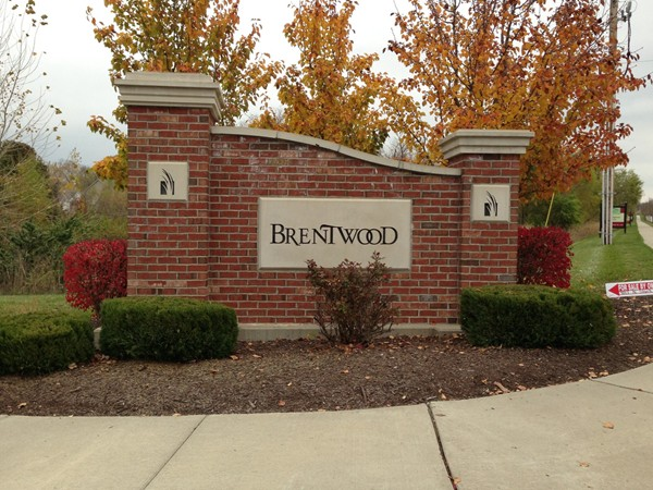 Beautiful fall day at Brentwood in Kansas City.