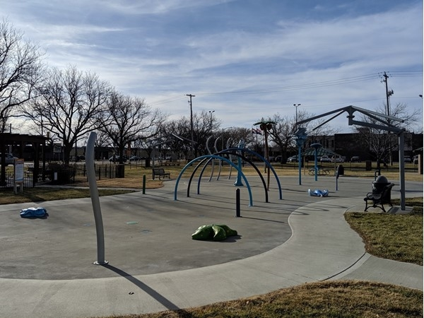 Splash pad located at Dagg Park. Open during the summer with no entry fee