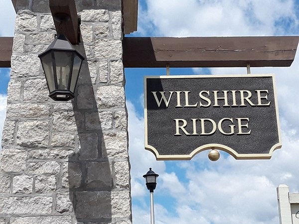 Welcome to Wilshire Ridge