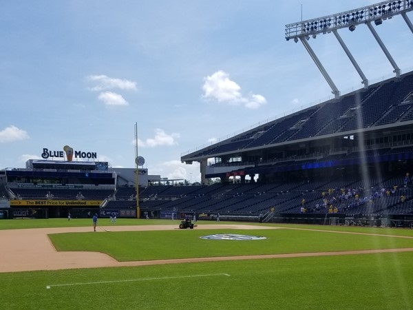 Kaufman Stadium. Ready for some baseball?